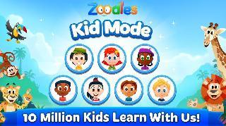 kid mode: free learning games
