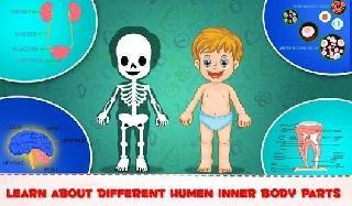 learning human body part 1