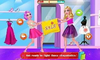 mall girl: shopping mania  dress up and makeup