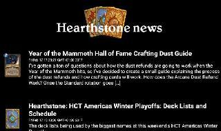 news and tactics for hearthstone