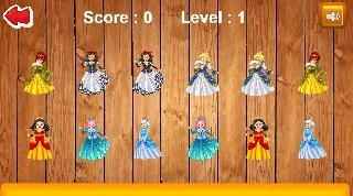princess memory game for kds