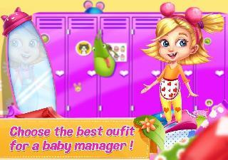 supermarket manager baby games