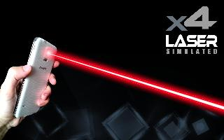 xx laser pointer simulated