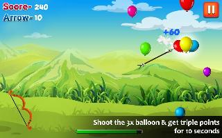 ballon shooting