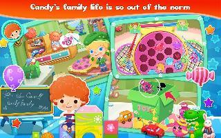 candy's family life