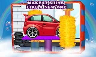 car wash salon and cleanup