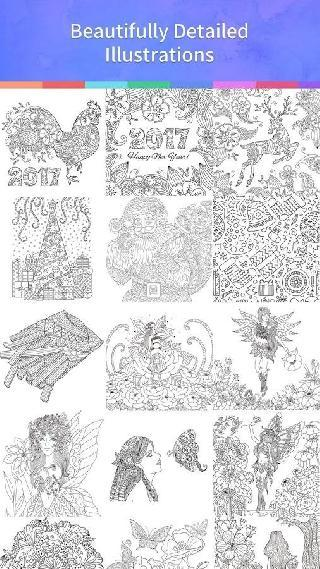 coloring book 2017