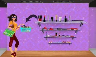 cosmetic business shop: makeup store cashier