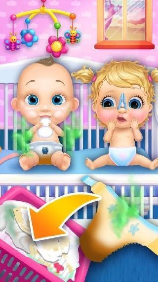 crazy twins baby house