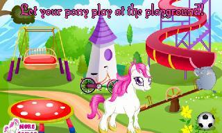 cute pony care girl game
