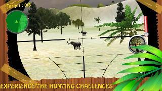 forest animals hunting - 3d