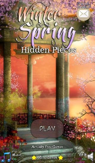 hidden pieces: winter spring