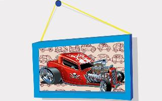 kids puzzle: cartoon cars