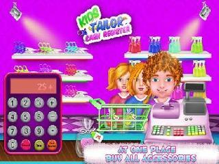 kids tailor cash register