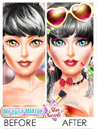 my daily makeup - girls game