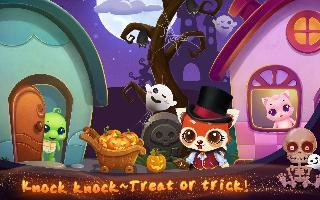 pet halloween night