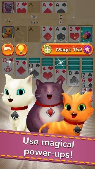 solitaire cats