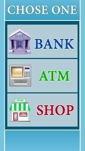 atm learning simulator pro for money and credit card