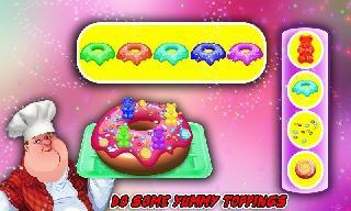 donut factory and cooking chef
