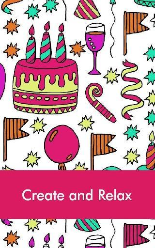 doodle coloring book for adult