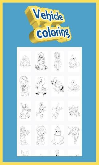 easter coloring for kids