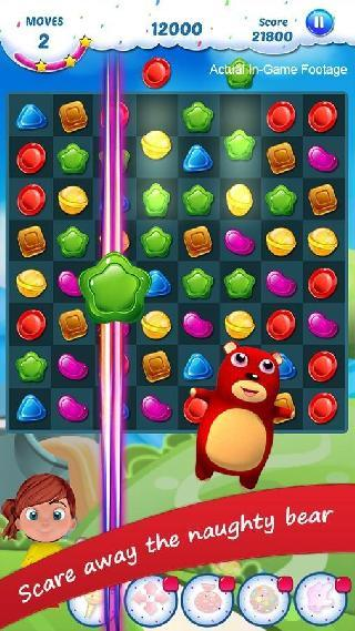 gummy candy - match 3 game