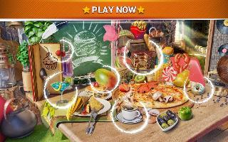 hidden objects food  kitchen cleaning game