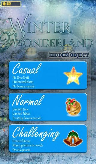 hidden objects - winter wonder