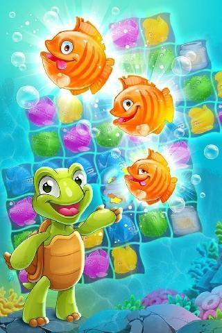 mermaid puzzle: fish rescue