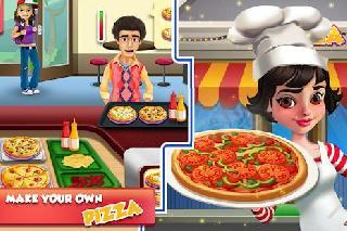 pizza maker restaurant cash register: cooking