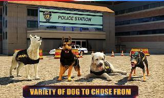police dog 3d : crime chase