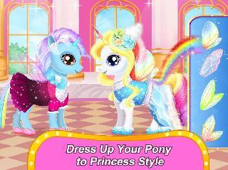 rainbow pony makeover