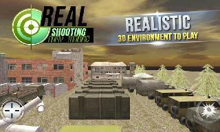 real shooting army training