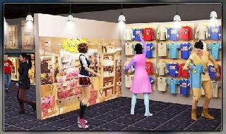 shopping mall princess outlet: cash register games