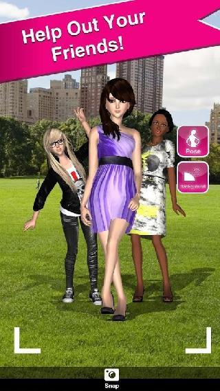 style me girl: free 3d dressup