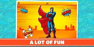 super heroes: boys puzzle game