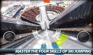super ski jump - winter rush