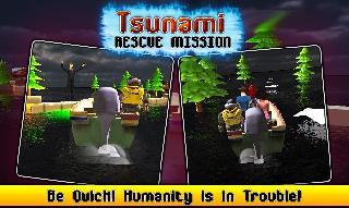 tsunami rescue mission