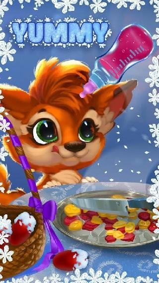 winter fairy: my little fox