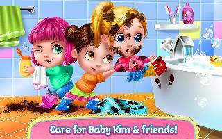 baby kim: care and dress up
