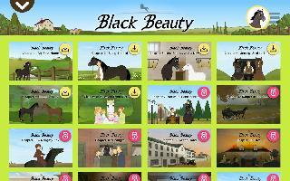 black beauty - storybook