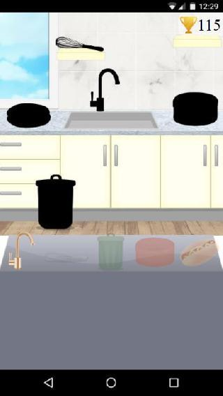 cooking and washing dishes game
