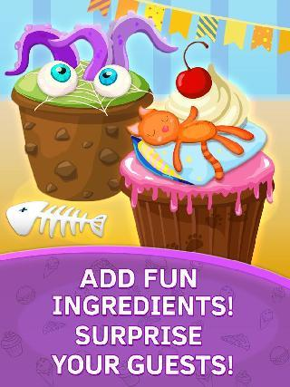 cupcake kids food games free