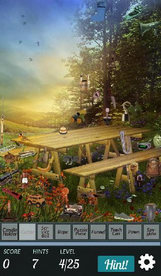 hidden object - summer garden