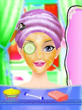 indian doll fashion salon : bridal beauty salon