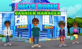 kids bank cashier manager money learning