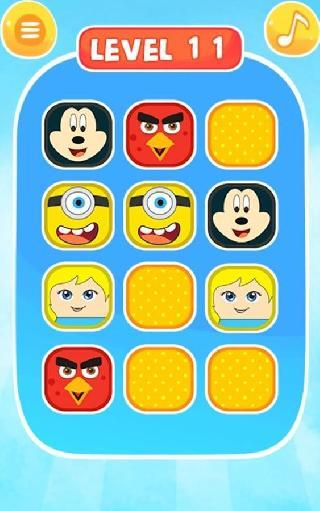 kids game - memory puzzle