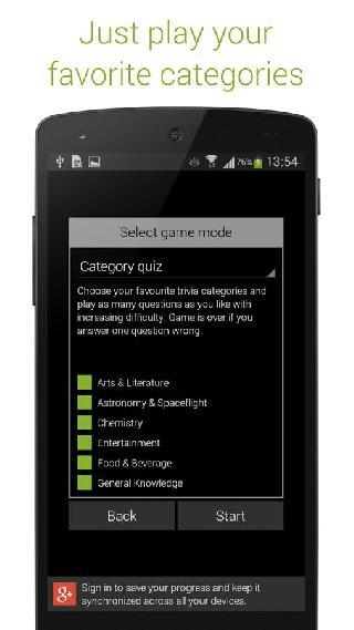 quizoid pro: category trivia