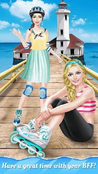summer roller girl - bff salon