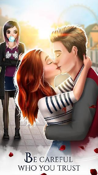 vampire love story games for girls: school romance